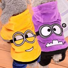 Dog Minion Halloween Costumes Buy Wholesale Funny Animal Costumes China Funny Animal