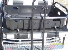 golf cart utility cargo boxes portable aluminum dumping