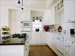 Red Kitchen Cabinets Kitchen Dark Kitchen Cabinets With Light Floors Red Kitchen