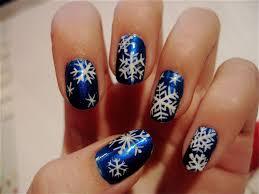 the nailtress christmas nail art u003dd christmas snowflake nail