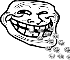 Know Your Meme Troll Face - little trolls trollface coolface problem know your meme