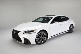 lexus car black this is the 2018 lexus ls 500 f sport the drive