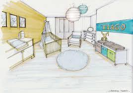 plan chambre enfant aménagement d une maison sur plan 91 chambre du bébé garçon