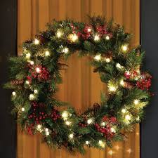 imposing ideas outdoor lighted wreaths with lights happy