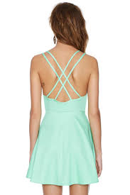 nasty gal live it up dress mint in green lyst