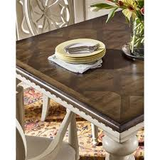 universal furniture sojourn extendable dining table in pecky pecan