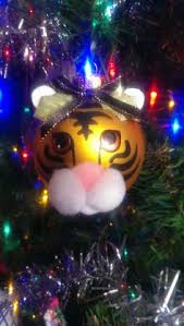 kid u0027s googly eye tiger christmas ornament personalized for free