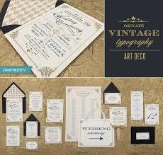 freebie ornate vintage art deco style u2013 download u0026 print