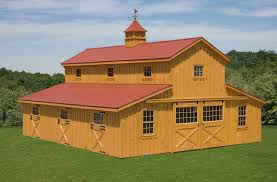 Barn Roof Styles by Barns Carolina Barn Post And Beam Constructed Horse Barn South