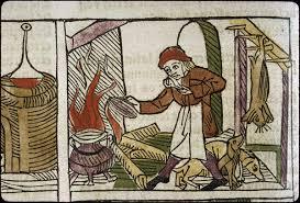 cuisine au moyen age exposition ripailles et rogatons manger au moyen âge en pays