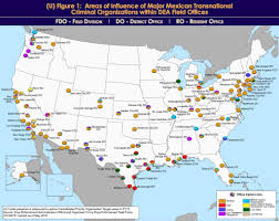 Texas Map Cities Dea Releases Which Cartels Rule Texas Towns San Antonio Express News