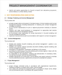 project coordinator job description sample project coordinator