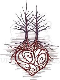 39 best heart roots tattoo images on pinterest drawing family
