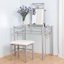 Glass Makeup Vanity Table Luxury Corner Vanity Table Furniture Corner Vanity Bedroom