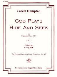 god plays hide and seek for organ and cd