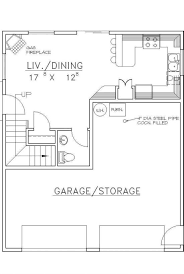 house plan 039 00393 951 square feet 2 bedrooms 1 5 bathrooms