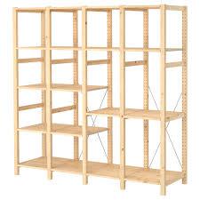 ivar ikea ivar 4 sections shelves pine 179x50x179 cm ikea