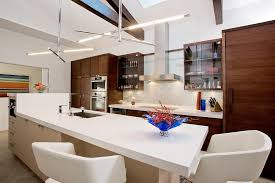 melbourne galley kitchen remodel contemporary with slot lights