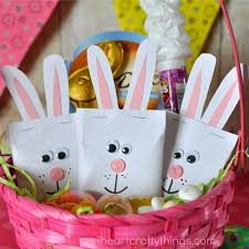easter bunny candy diy easter bunny candy pouches i heart crafty things