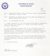 navy letter of recommendation format format
