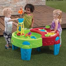 Water Table Toddler Shady Oasis Sand U0026 Water Table With Umbrella Sam U0027s Club