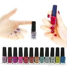 lulaa metallic nail polish pure color 6ml mirror effect shiny
