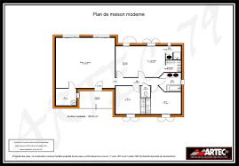 plan maison 80m2 3 chambres plan maison 80m2 3 chambres plan maison moderne genus plan
