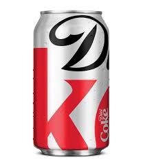 Coke Can Six Flags Powered By Diet Coke