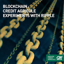 si e credit agricole groupe crédit agricole on blockchain we re testing out