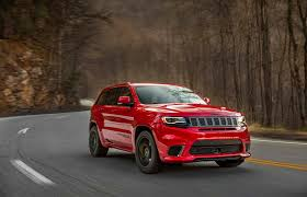 monster jeep grand cherokee jeep grand cherokee trackhawk starting at 85 900