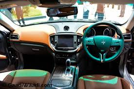 2015 Maserati Ghibli Interior 2015 Maserati India Interior Gaadiwaadi Com