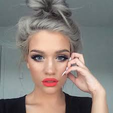 hair trend 2015 gray hair trend 2015 nail art styling