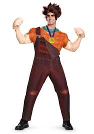 spirit of halloween costumes deluxe wreck it ralph costume walmart com