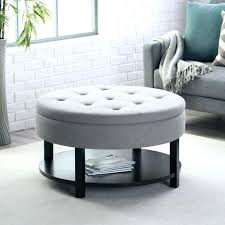 Black Tufted Ottoman Divine Red Tufted Ottoman Ideas Coffee Tables Attractive Black