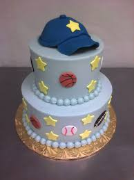 baseball baby main made custom cakes