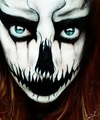 40 the most creepy halloween makeup ideas entertainmentmesh