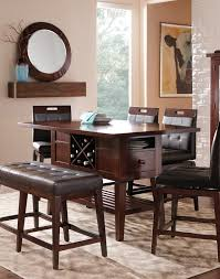 round table orland ca julian place chocolate 6 pc counter height dining room dining room