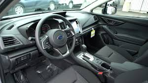 subaru impreza 2017 interior 2017 subaru impreza hatchback exterior interior overview youtube