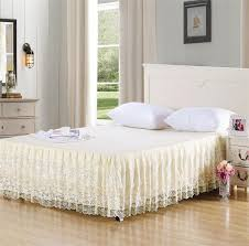 Shabby Chic Bed Frame Straight Shabby Chic Bed Skirt Hq Home Decor Ideas