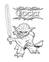 yoda coloring pages star wars coloring yoda images