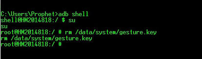 pattern lock using android debug bridge bypass android pattern lock from adb tool
