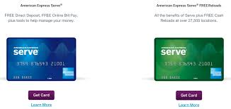 serve prepaid card there s a new amex serve prepaid debit card out and out