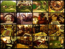 Hobbit Home Interior My Hand Made Hobbit Hole U2013 Bag End From Lord Of The Rings Mini