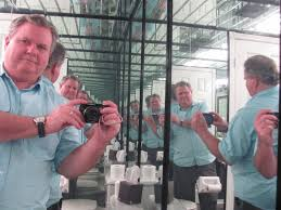 bathroom infinity mirror the world of gord gord to infinity the bathroom of mirrors