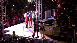 tree lighting with disney characters san francisco pier 39 2015