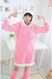 aliexpress buy carton anime cosplay kitty hooded