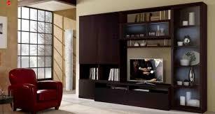 Living Room  Great Brown Modern Showcase Designs For Living Room - Showcase designs for living room