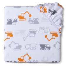 Construction Crib Bedding Set Circo Woven Boy S Construction Fitted Crib Sheet Shared Nursery