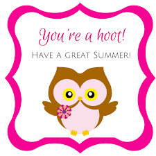 free owl template printable free owl end of school gift tag printables the organized dream they re free to download the pdf links are right below each picture for easy download happy summer