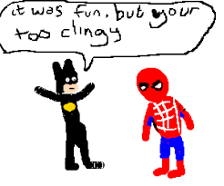 spiderman crush batman